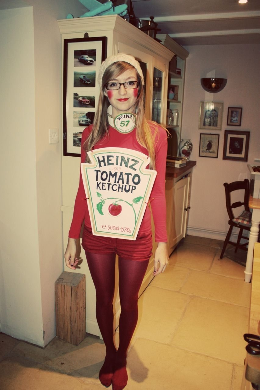 10 Fabulous Cheap Creative Halloween Costume Ideas becoming ketchup and the golden snitch homemade fancy dress 4 2020