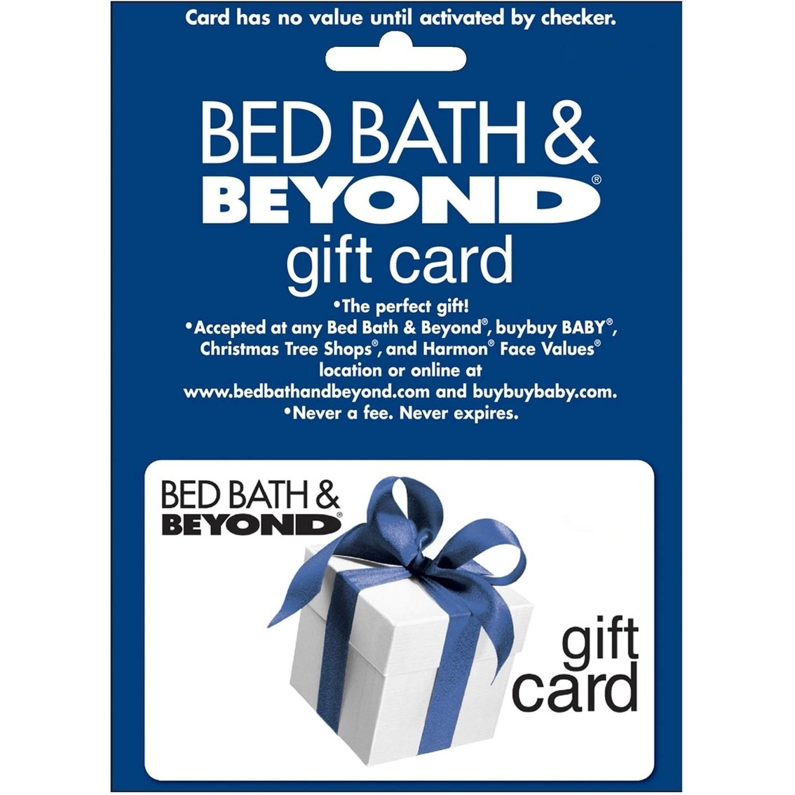 bed bath & beyond gift card | home | gifts & food | shop the exchange