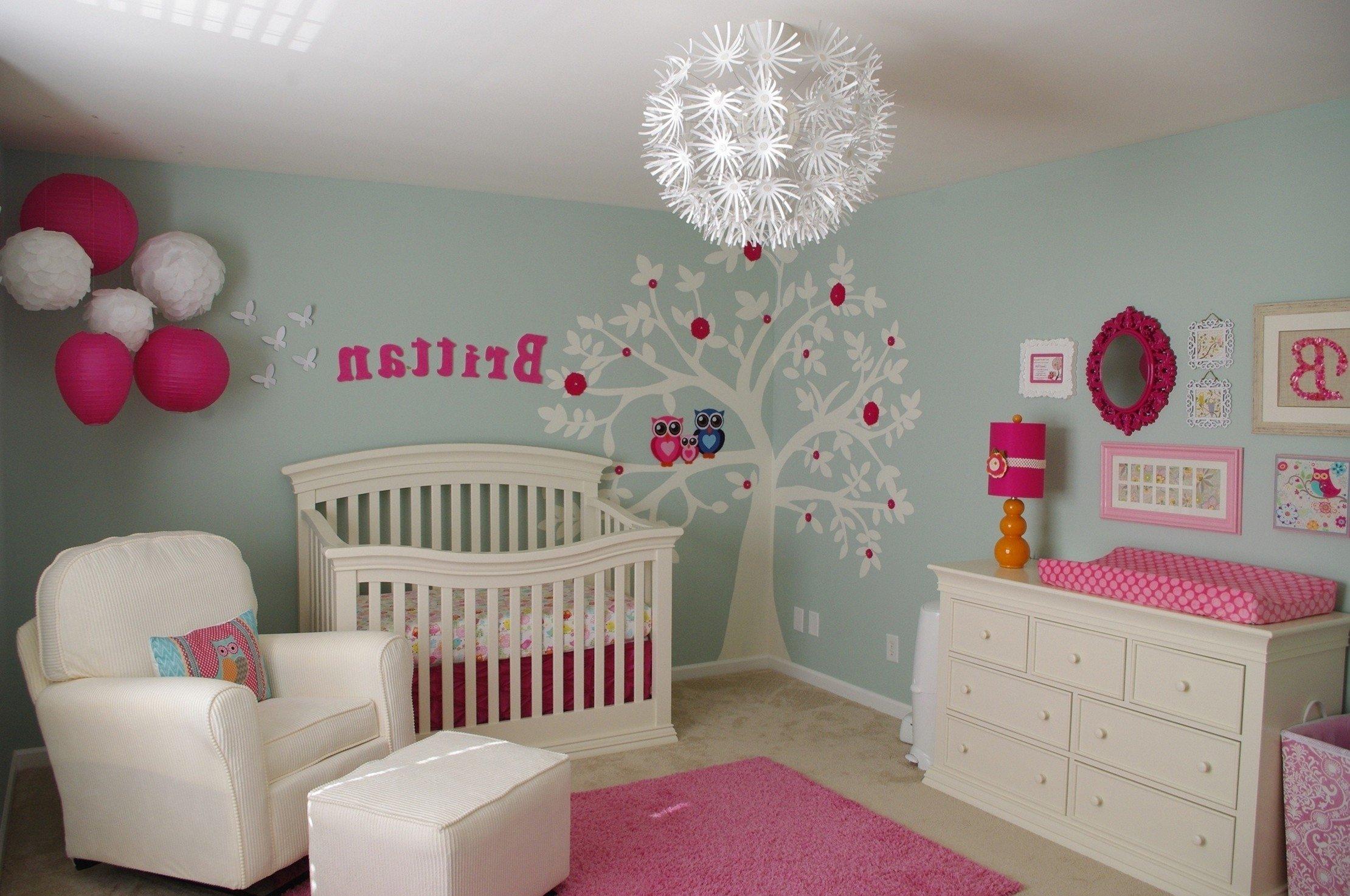 10 Spectacular Baby Girl Room Theme Ideas bedroom 46 baby girls room decor photos new born of bedroom