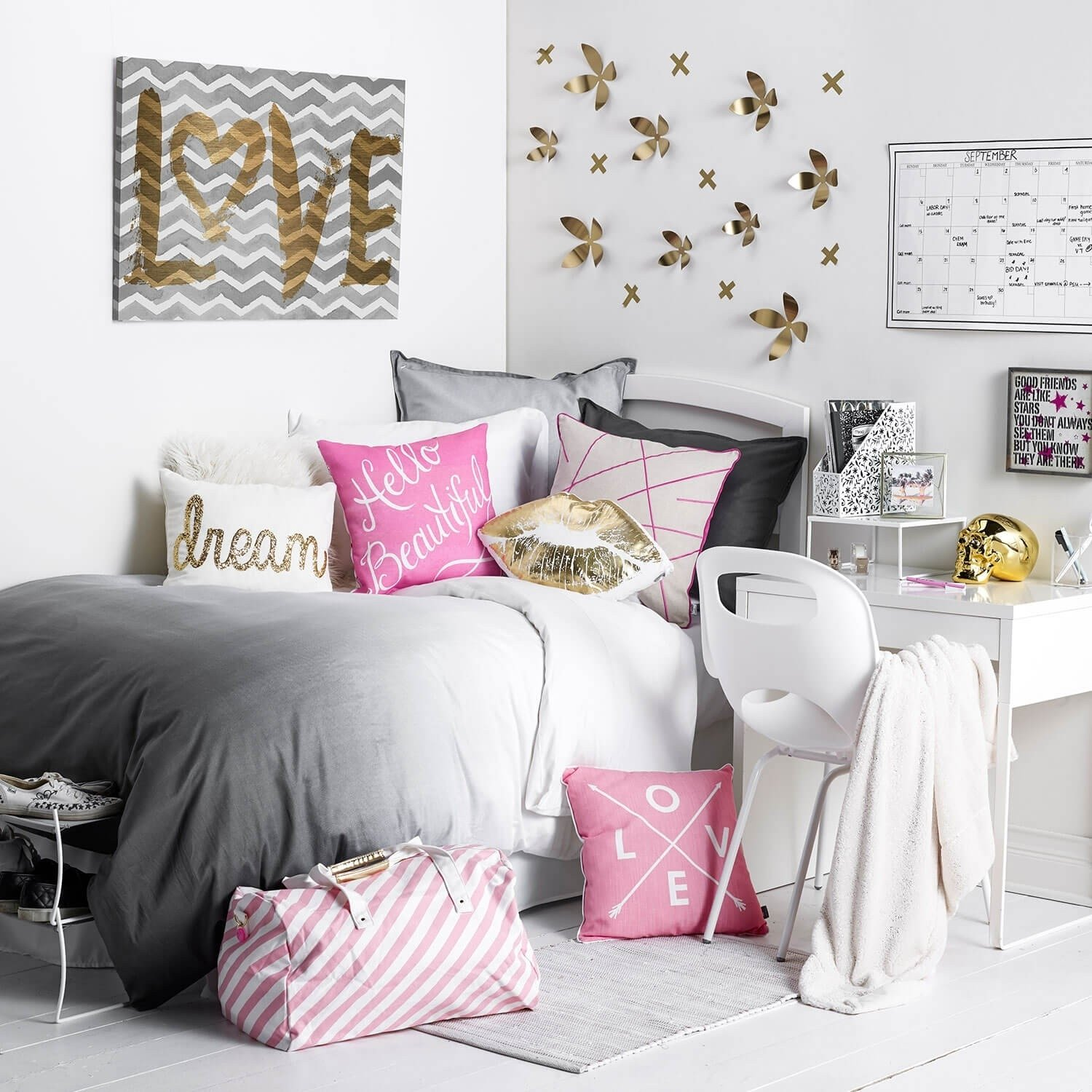 10 Most Recommended Pink Black And White Room Ideas bedroom design pink black and white bedroom accessories grey and 2020