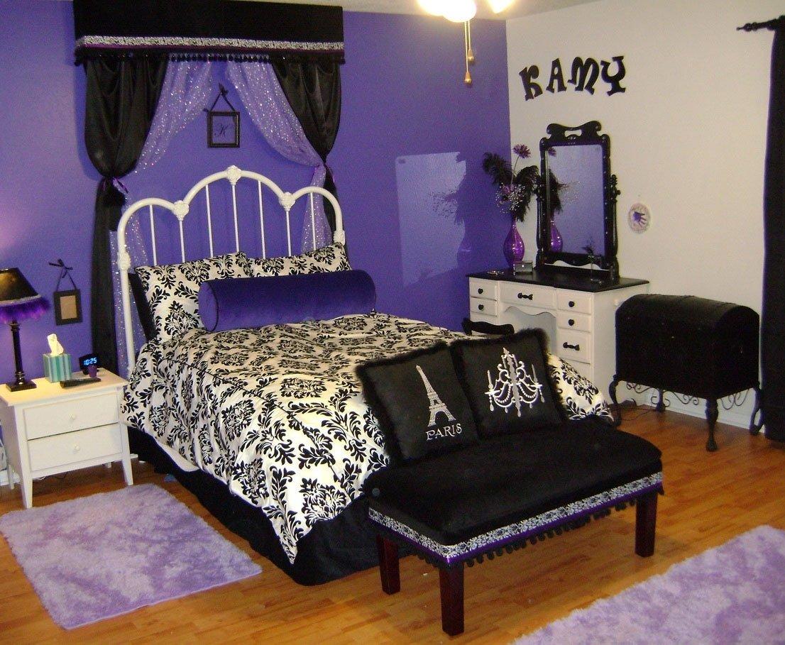 10 Fabulous Purple And Black Bedroom Ideas bedroom design purple bedroom grey and white bedroom decor black