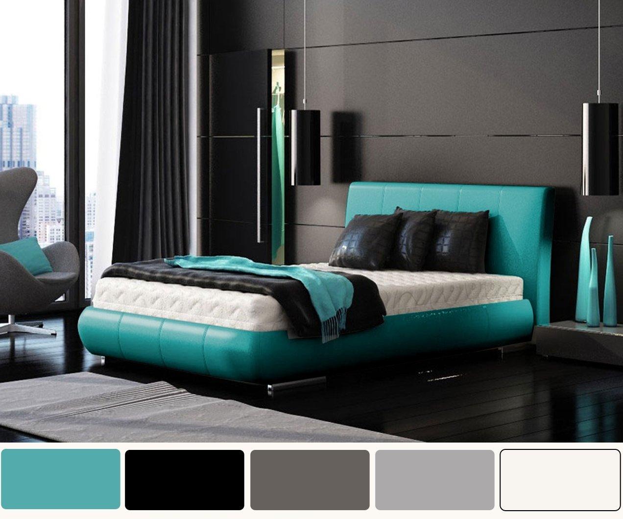 10 Lovable Blue And Black Bedroom Ideas bedroom great image of modern blue and black bedroom decoration 2020