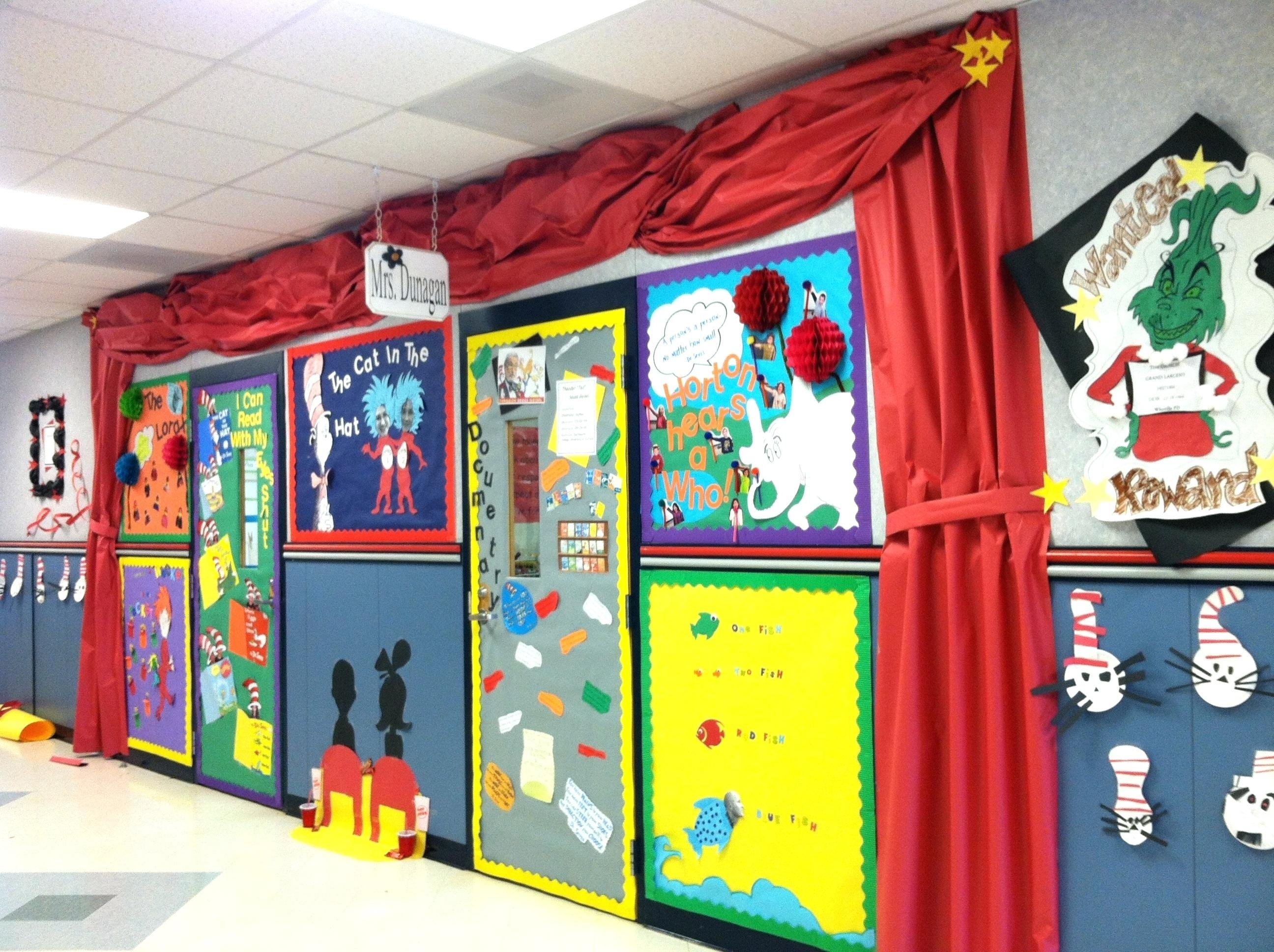 10 Attractive Dr. Seuss Decorating Ideas For Classroom bedroom ideas image of dr seuss decorations bedroom space trendy 2020