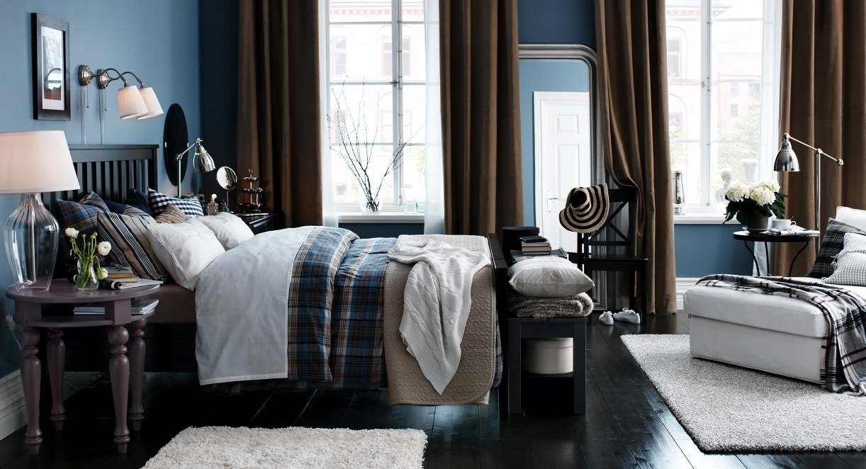 10 Elegant Blue And Brown Bedroom Ideas bedroom ideas with brown white and blue decosee 2020