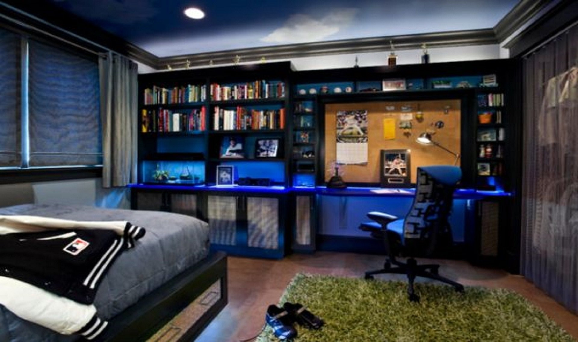 10 Fashionable Cool Bedroom Ideas For Teenage Guys bedroom mens bedroom accessories cool boys bedroom ideas cool cool 1 2020