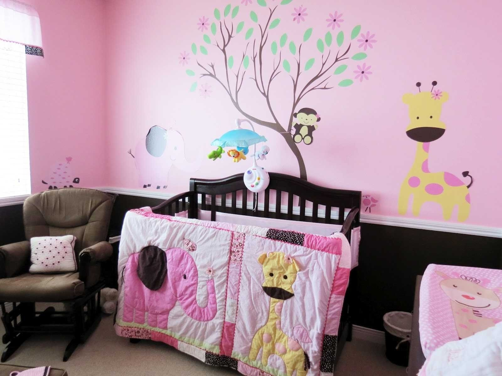 10 Fabulous Baby Girl Themed Nursery Ideas bedroom nursery ideas for pink trends also incredible baby girl