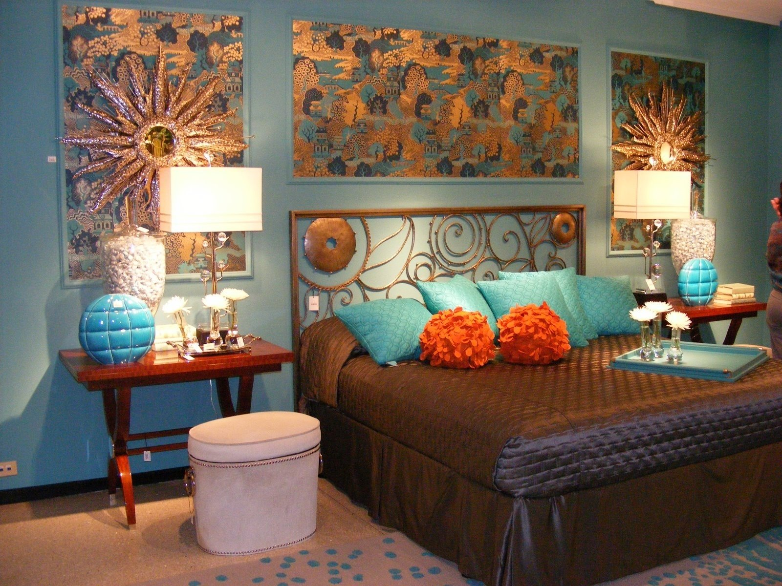 10 Most Popular Teal And Brown Bedroom Ideas bedrooms interesting outstanding bedroom ideas teal and brown brown 2021