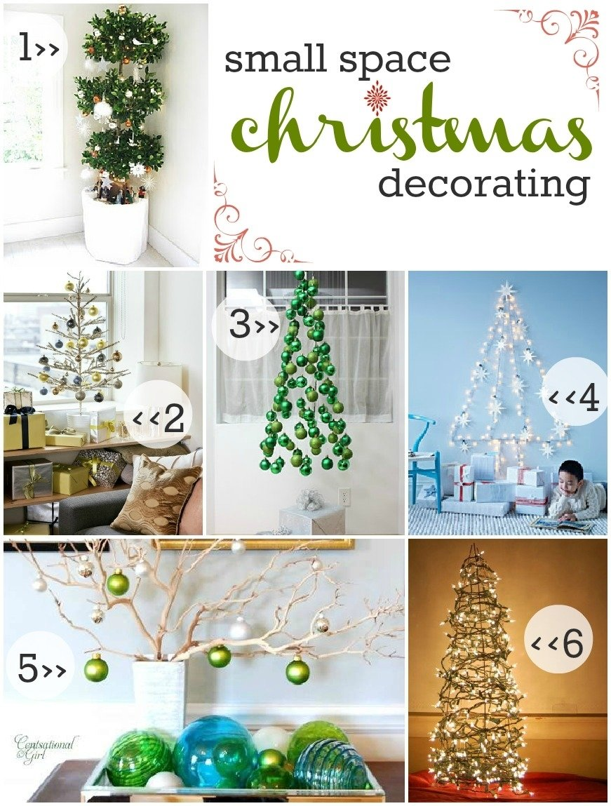 10 Amazing Christmas Tree Ideas For Small Spaces beginner beans small space christmas decorating an attempt toward 2020