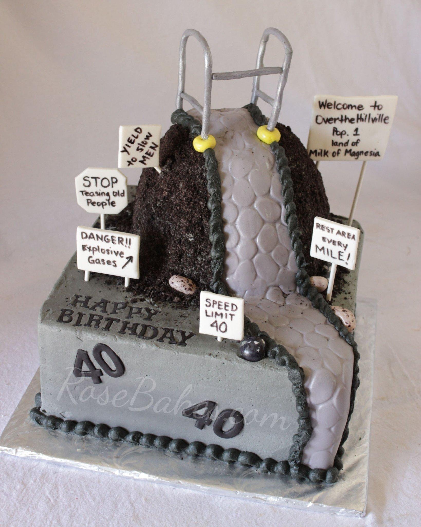10 Stunning 40 Year Old Birthday Cake Ideas behance 1