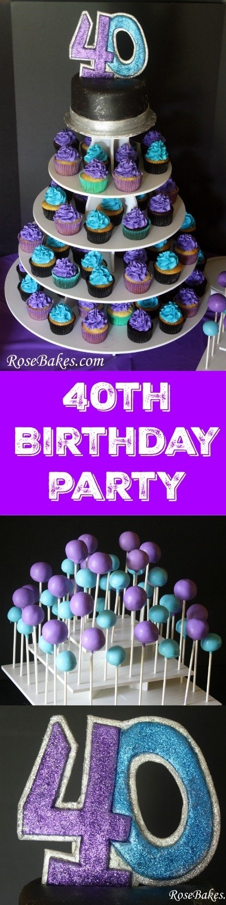 10 Unique 40Th Birthday Party Ideas For Wife behance 2 2020