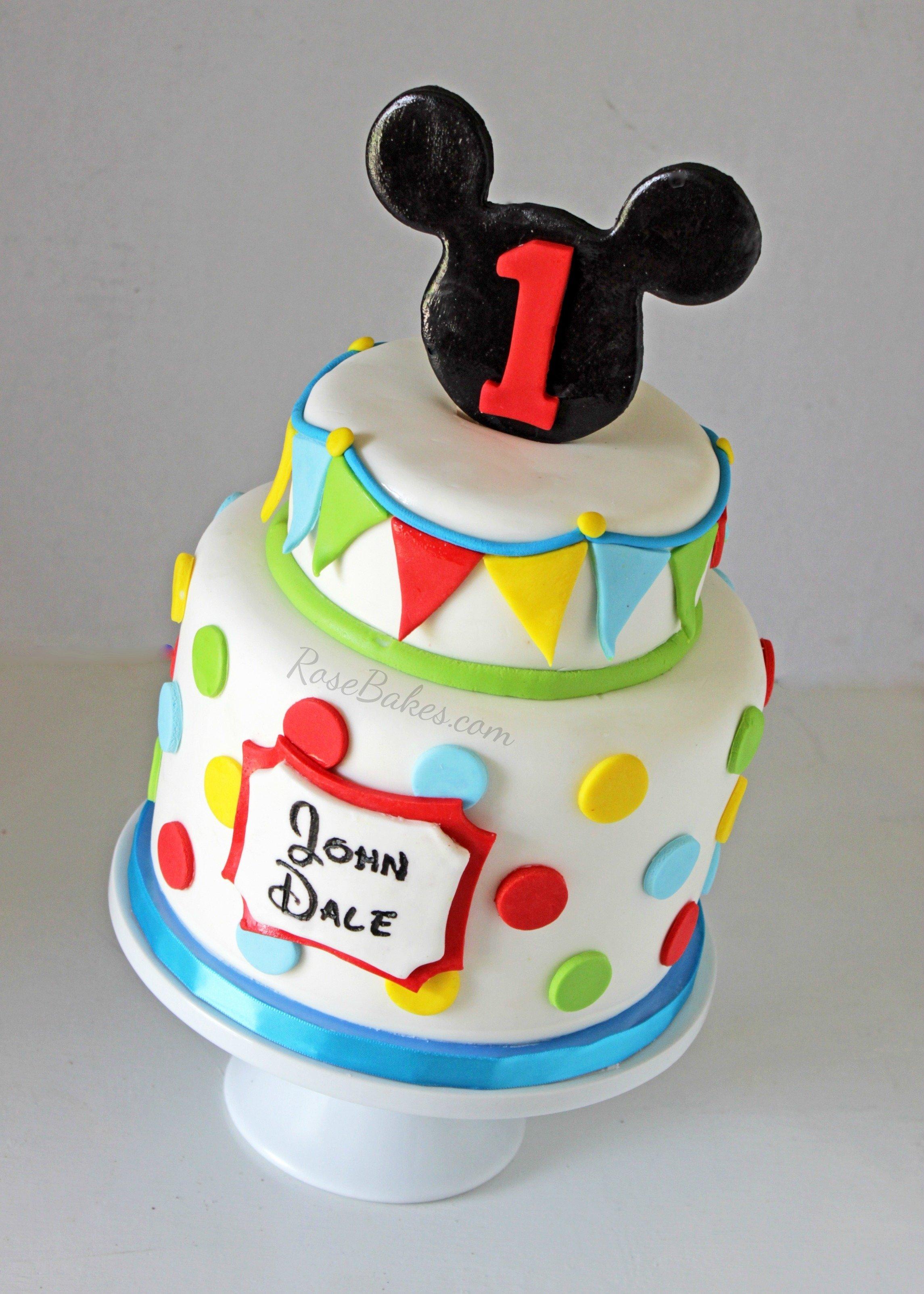 10 Most Popular Mickey Mouse Birthday Cake Ideas behance 3 2020