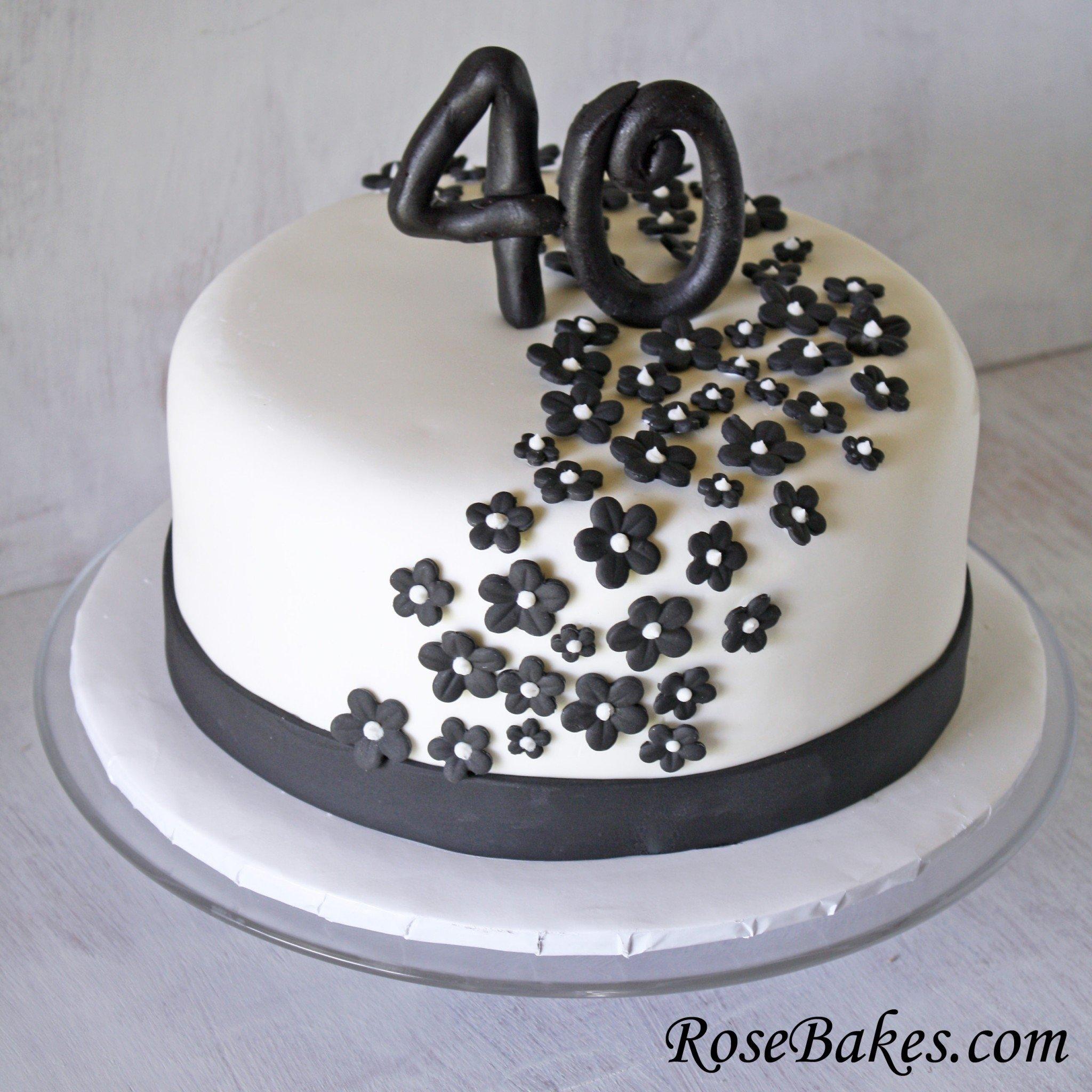 10 Stunning 40 Year Old Birthday Cake Ideas behance