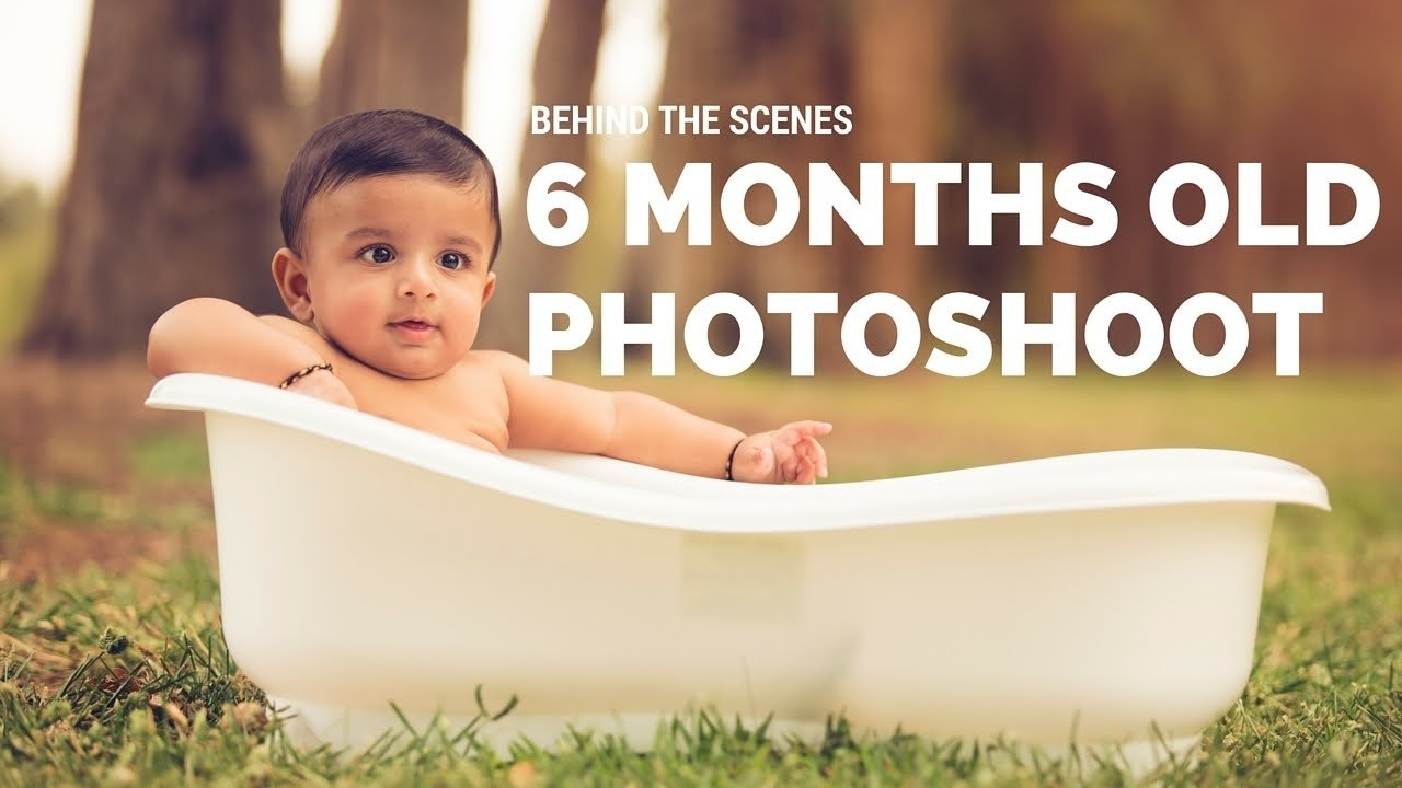 behind the scenes 6 months baby boy mini photo session - youtube