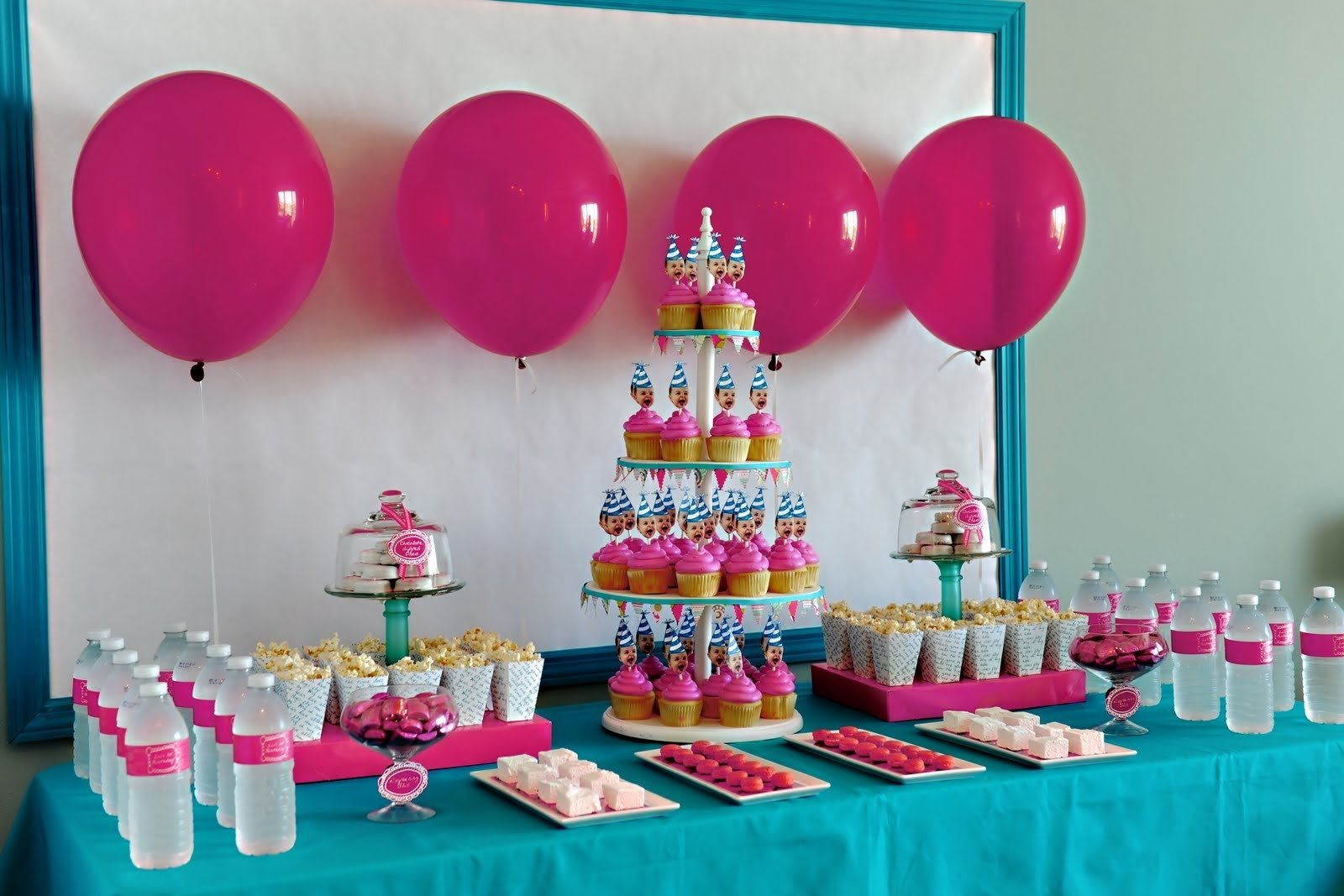 10 Stylish 4 Year Old Little Girl Birthday Party Ideas bella grace party designs real party one year old in a flash 2020
