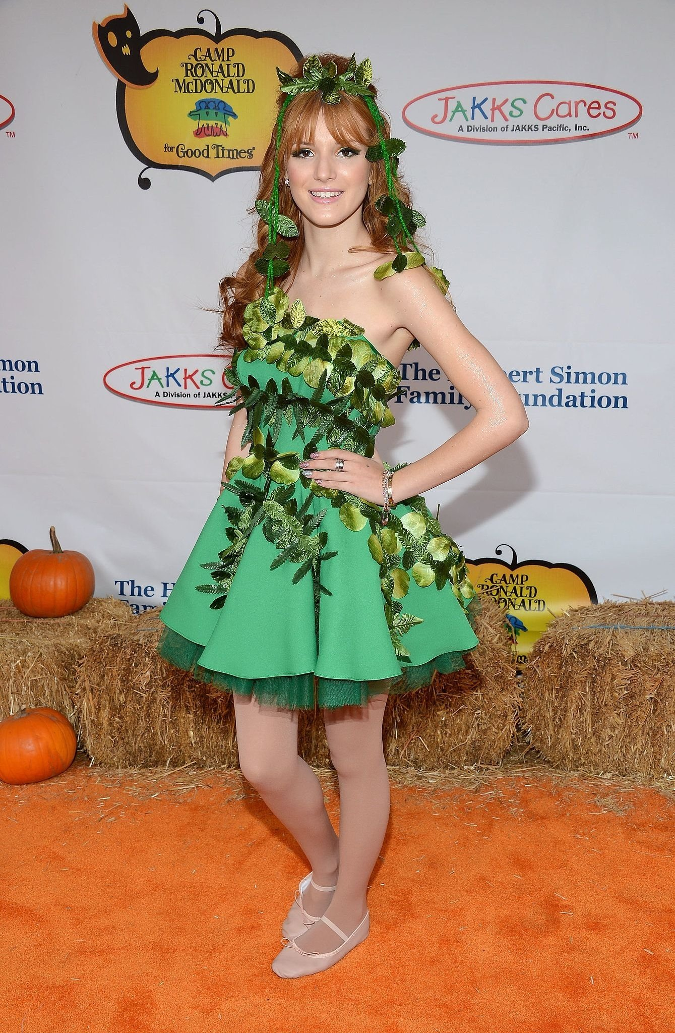 bella thorne attended the 2012 camp ronald mcdonald for good times