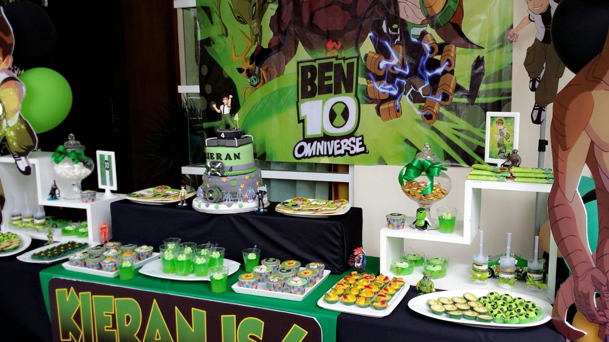 10 Trendy Ben 10 Birthday Party Ideas ben 10 birthday party ideas picnikpartyideas