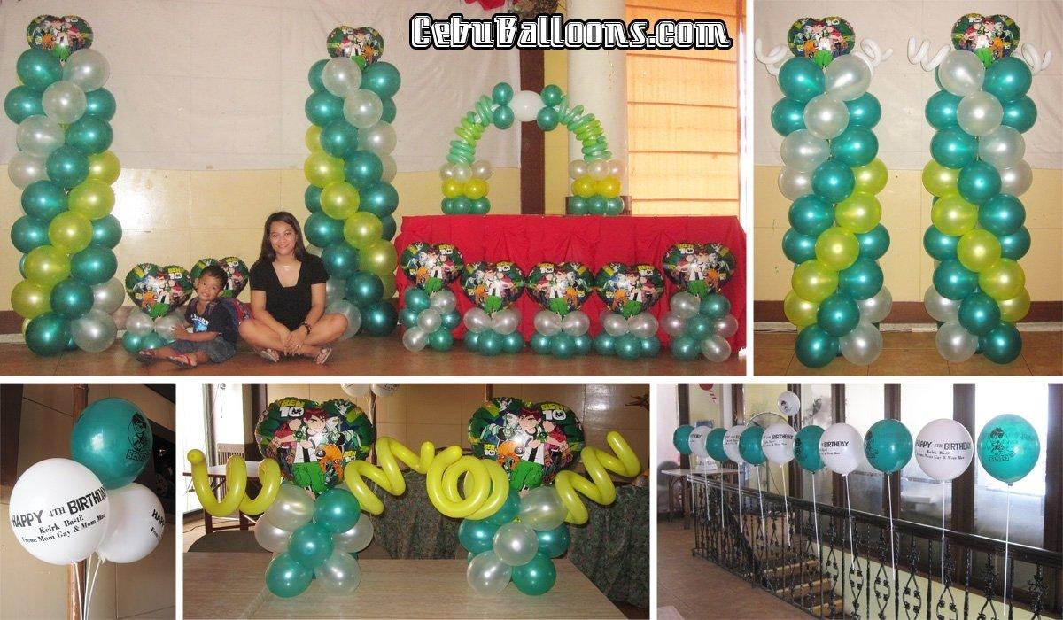 10 Trendy Ben 10 Birthday Party Ideas ben 10 cebu balloons and party supplies