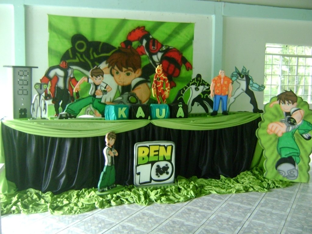10 Trendy Ben 10 Birthday Party Ideas