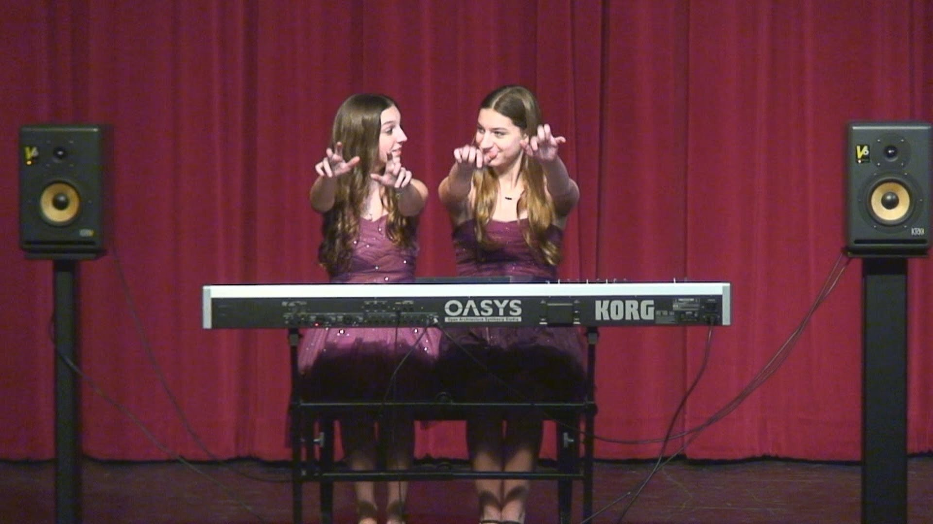 10 Beautiful Middle School Talent Show Ideas benicia high school talent show the sparks sisters performing 1 2021