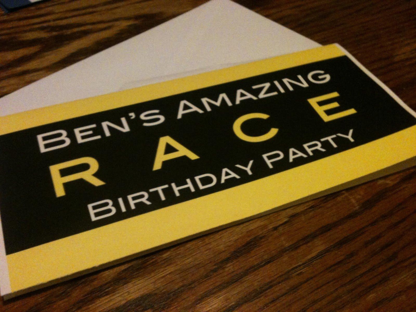 10 Wonderful Amazing Race Birthday Party Ideas bens amazing race birthday party homeschool musings 2020