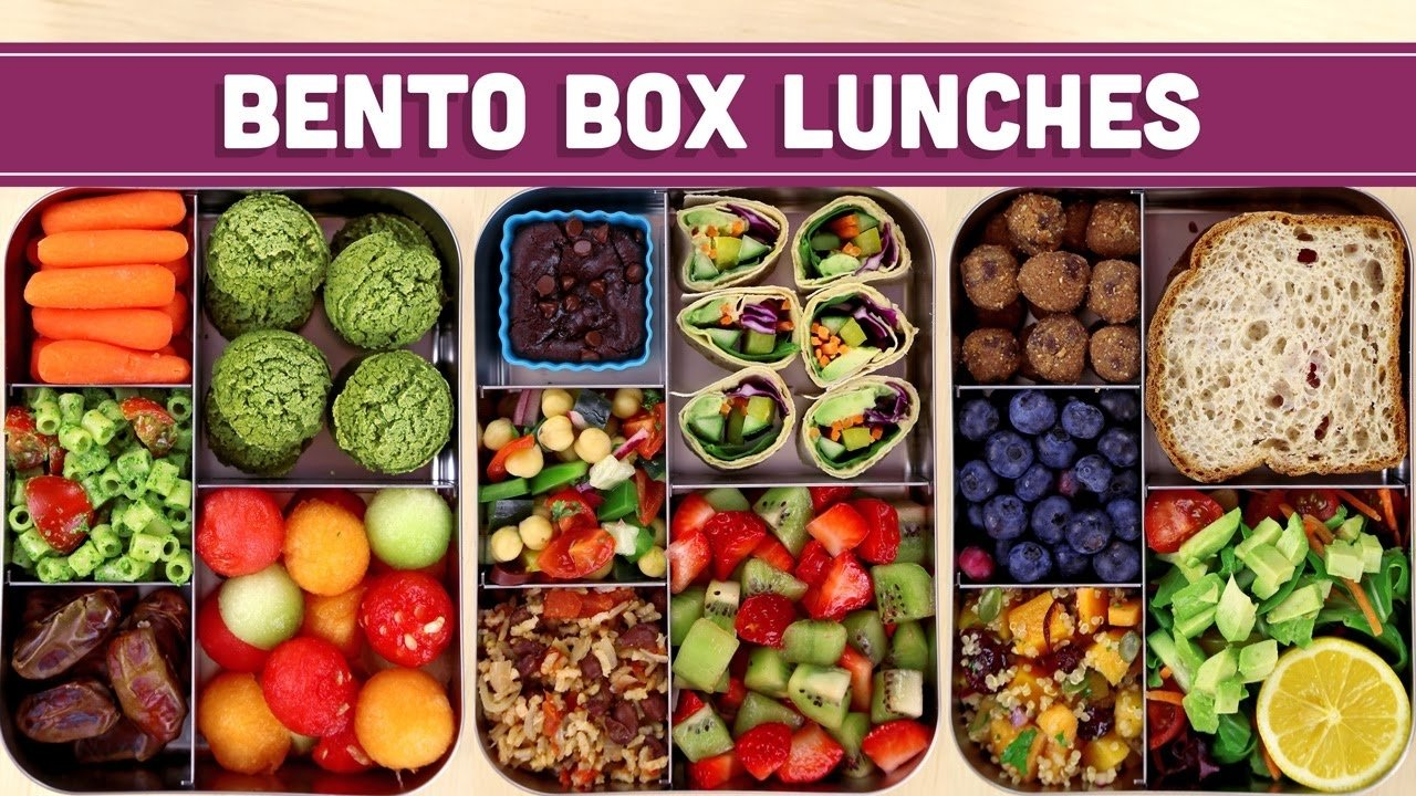 10 Attractive Bento Box Lunch Ideas For Adults bento box lunches healthy vegan mind over munch youtube 1 2021