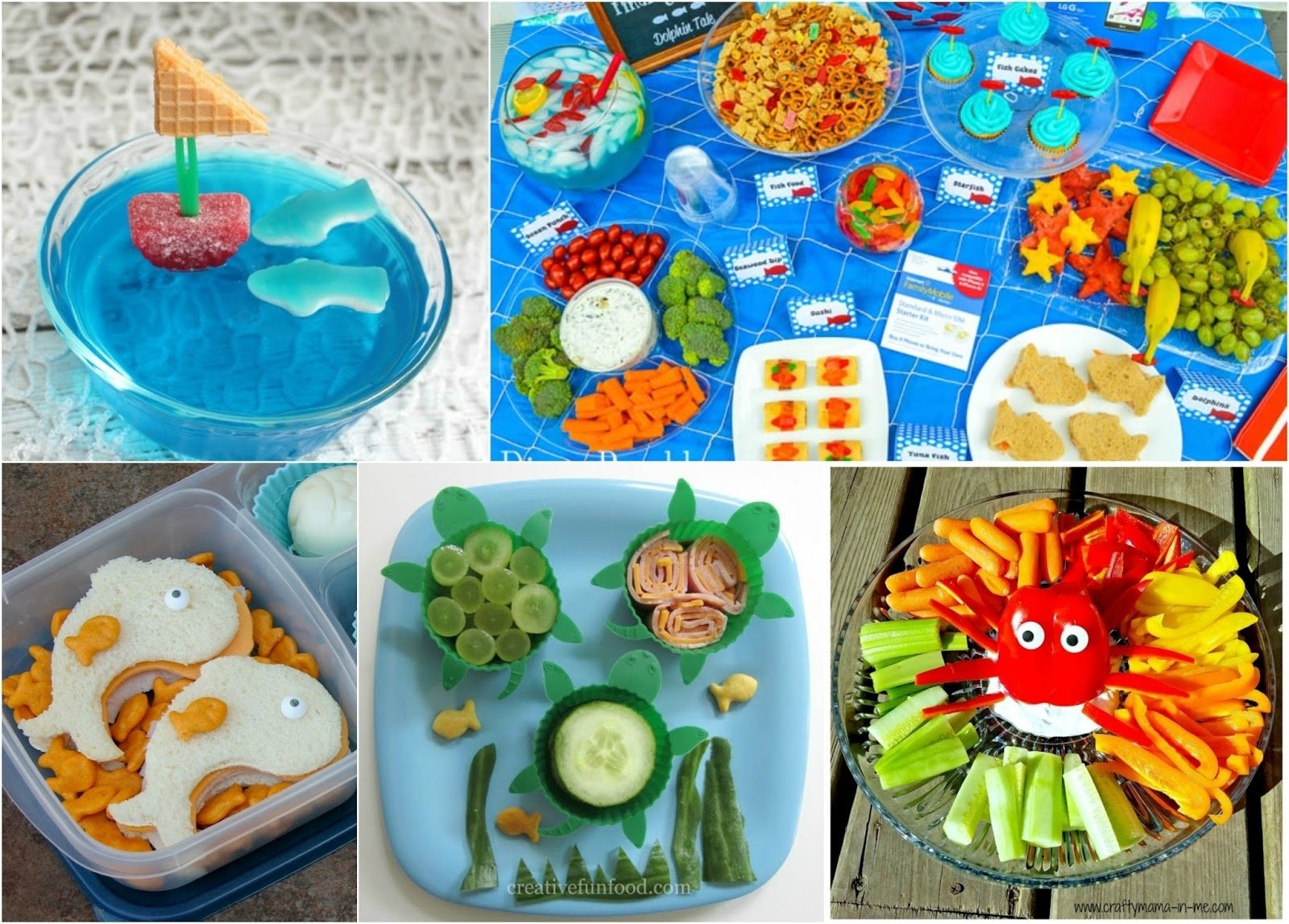 10 Cute Under The Sea Party Food Ideas bentolunch whats for lunch at our house 30 finding dory 1 2020
