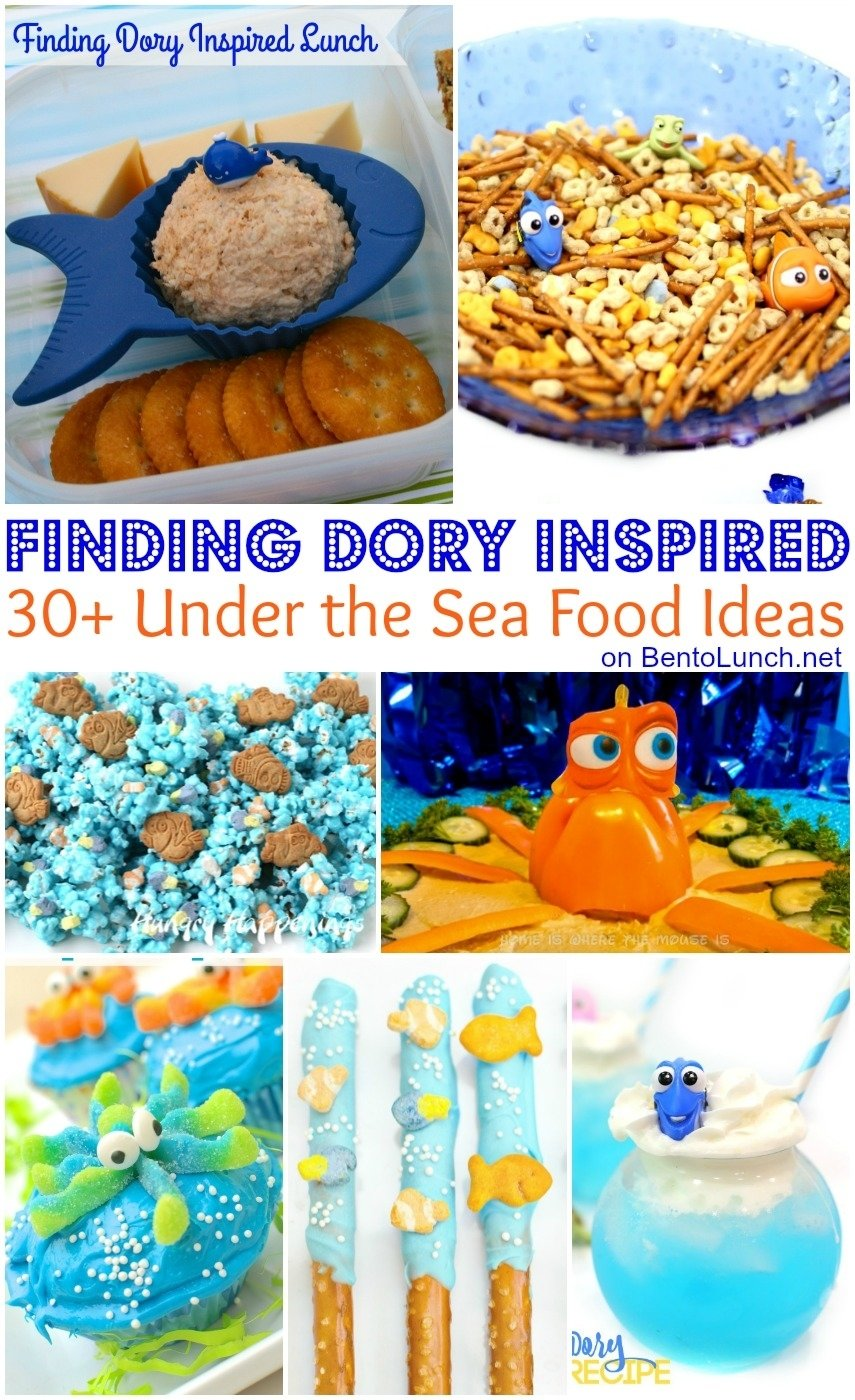 10 Beautiful Under The Sea Food Ideas bentolunch whats for lunch at our house 30 finding dory 2021