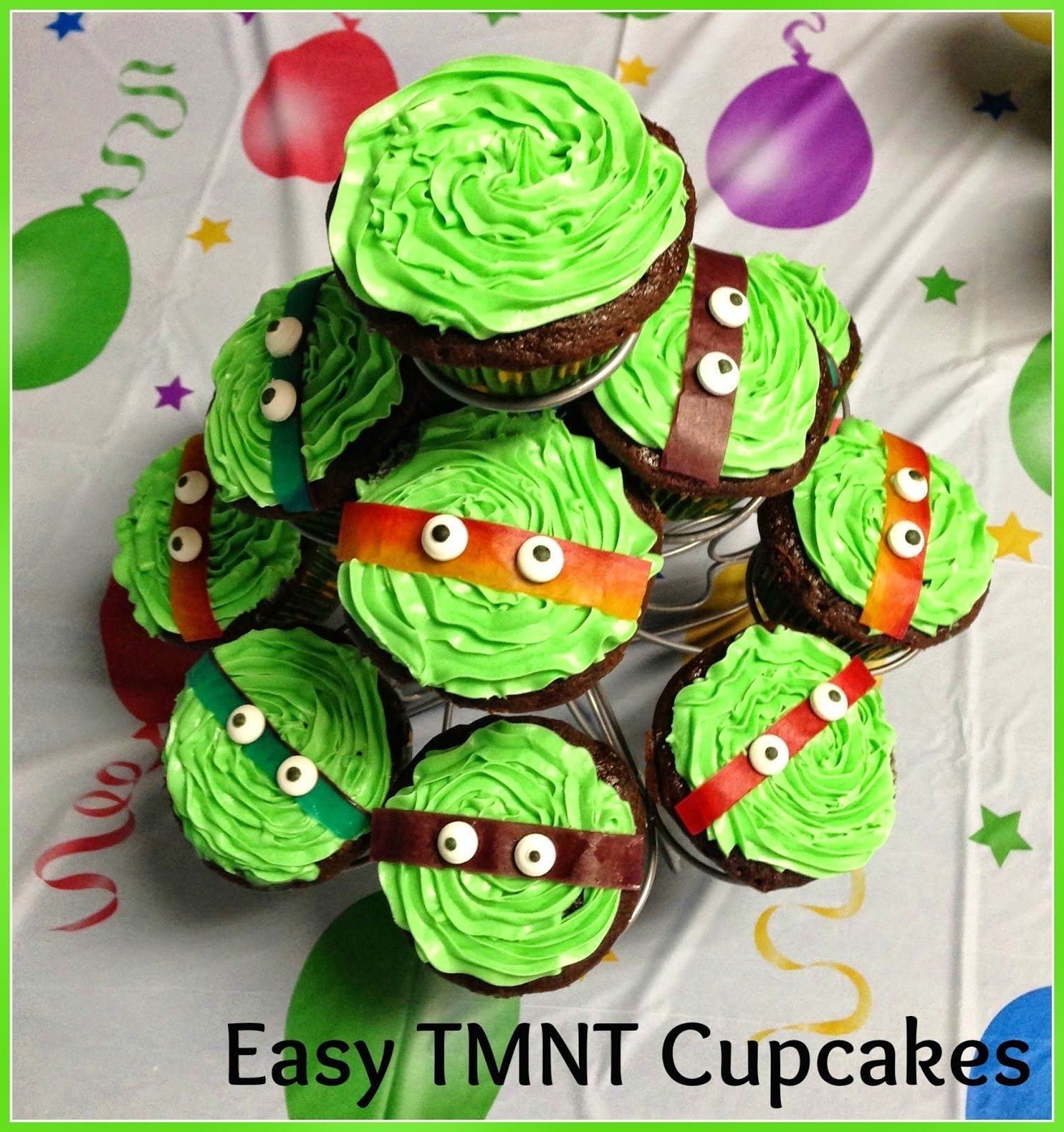 10 Attractive Teenage Mutant Ninja Turtles Cupcake Ideas bentolunch whats for lunch at our house how to make easy 2020