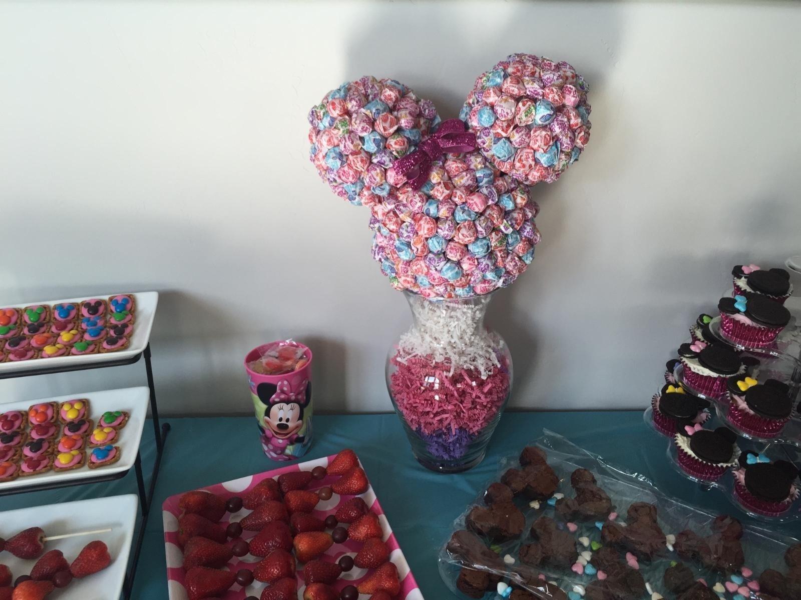 10 Wonderful Minnie Mouse Bowtique Party Ideas berries of wisdom minnie mouse bow tique party 2020