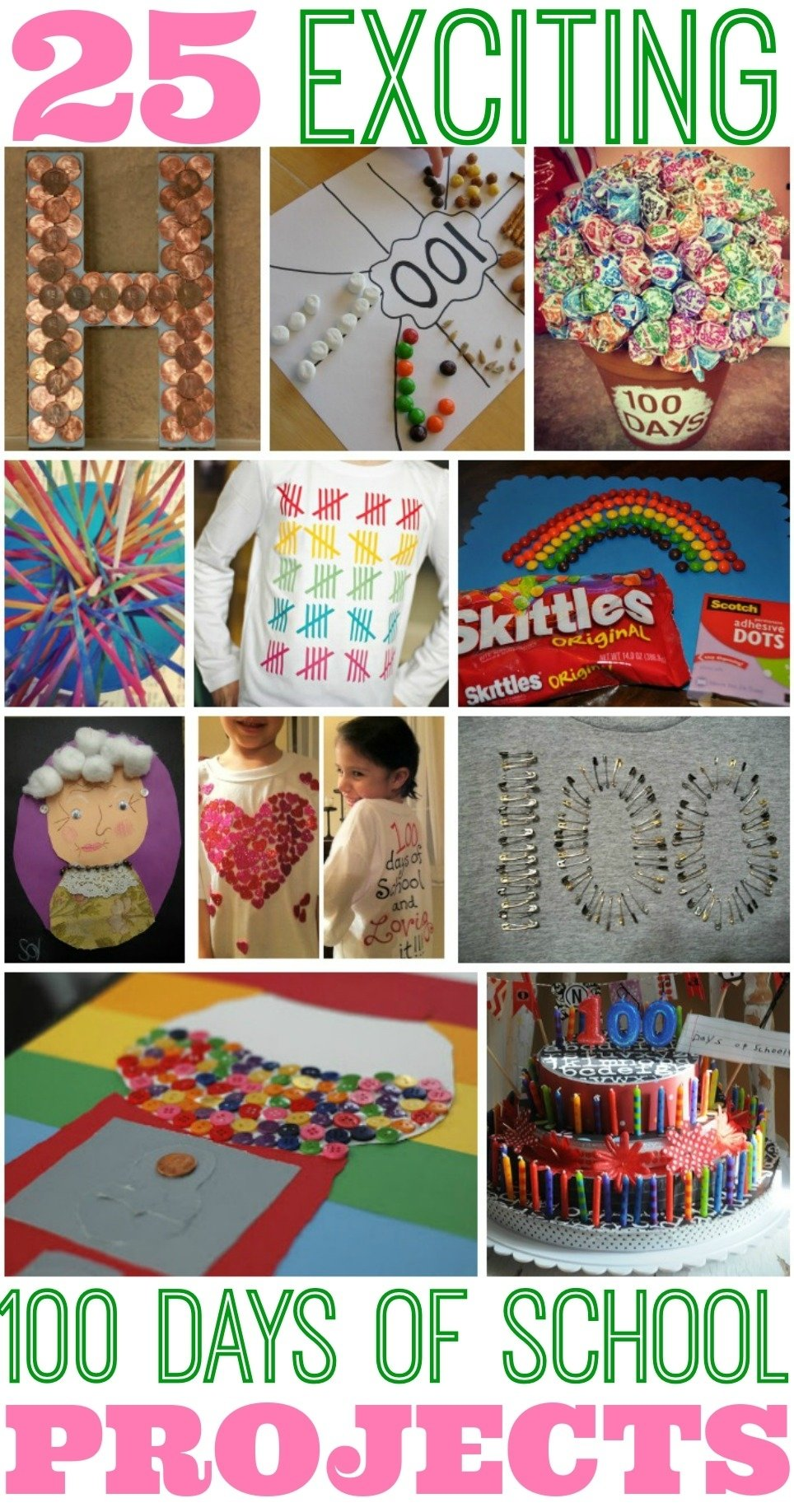 10 Perfect Ideas For 100 Days Of School Project best 100 days of school project ideas 2021