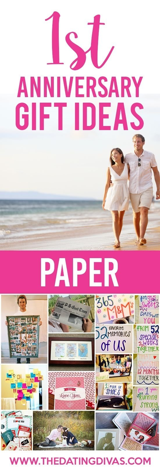 10 Fashionable One Year Anniversary Date Ideas best 1st wedding anniversary gifts ideas 35 unique paper presents