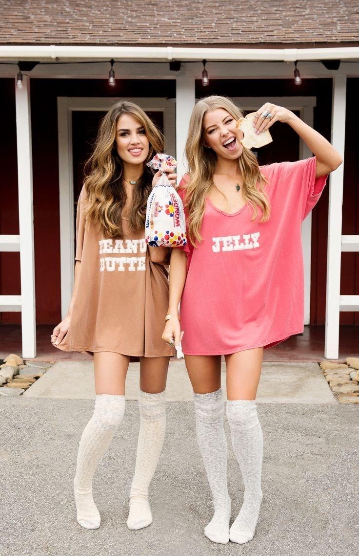 10 Pretty Costume Ideas For College Girls best 25 bff halloween costumes ideas on pinterest best teenage 2020