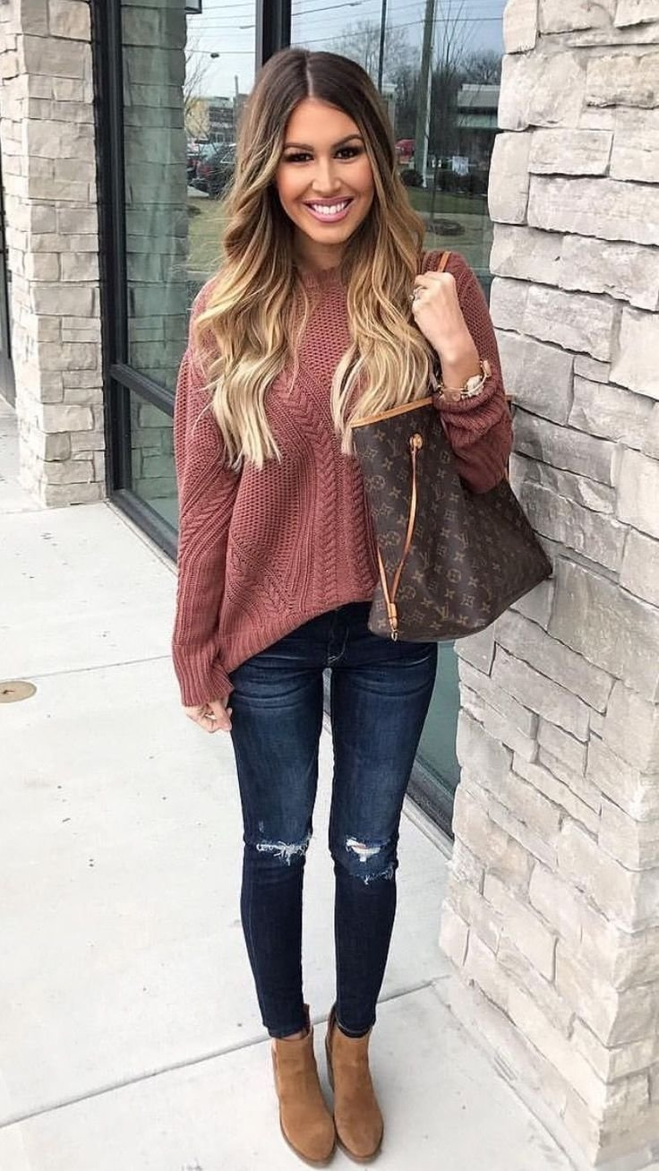 10 Great Cute Outfit Ideas For Fall best 25 cute sweater outfits ideas on pinterest cute outfits for