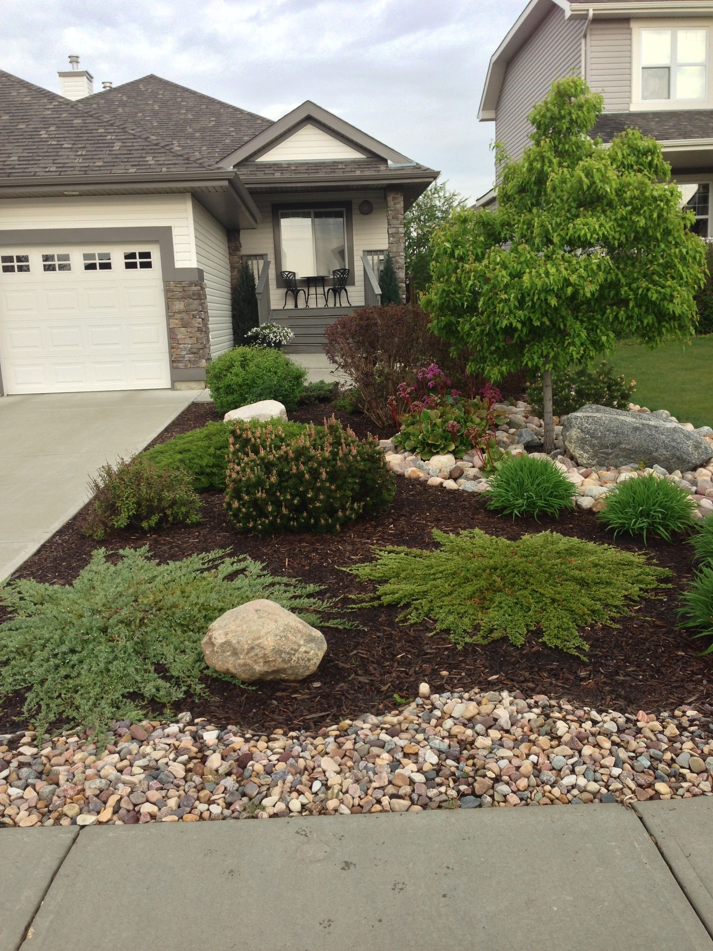 10 Perfect Rock Landscaping Ideas For Front Yard best 25 front yard landscaping ideas curb appeal factors and yards 2020