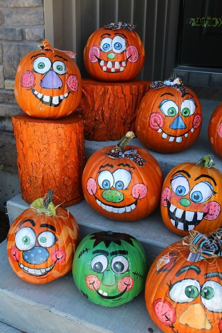 10 Elegant Pumpkin Painting Ideas For Kids best 25 painting pumpkins ideas on pinterest painted pumpkins 2020