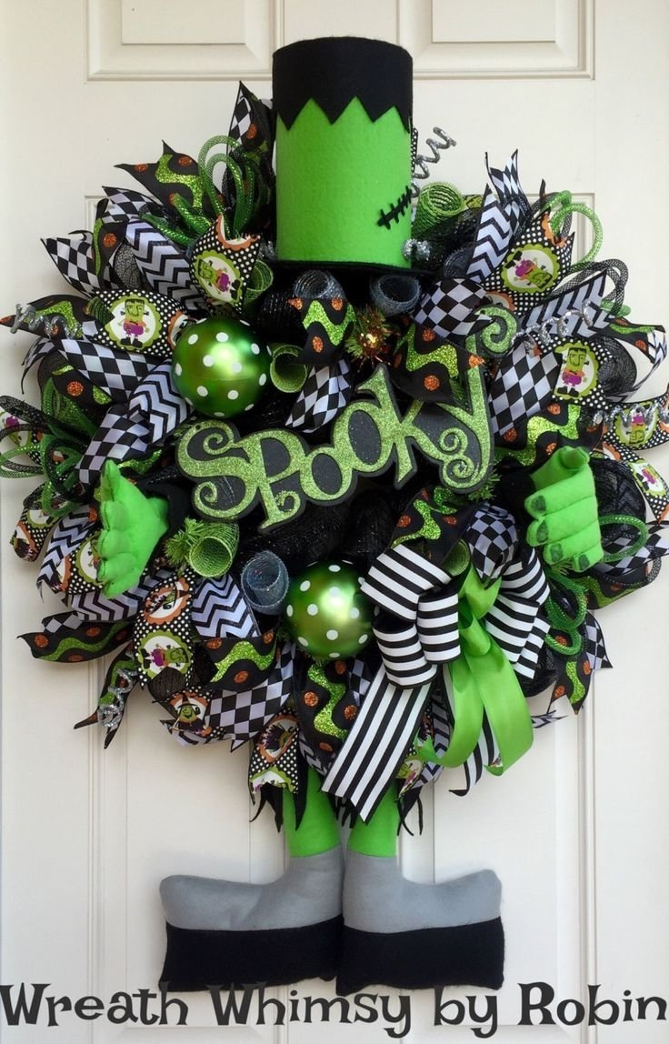 10 Most Recommended Deco Mesh Halloween Wreath Ideas best 25 tulle wreath tutorial ideas on pinterest halloween blue 2021