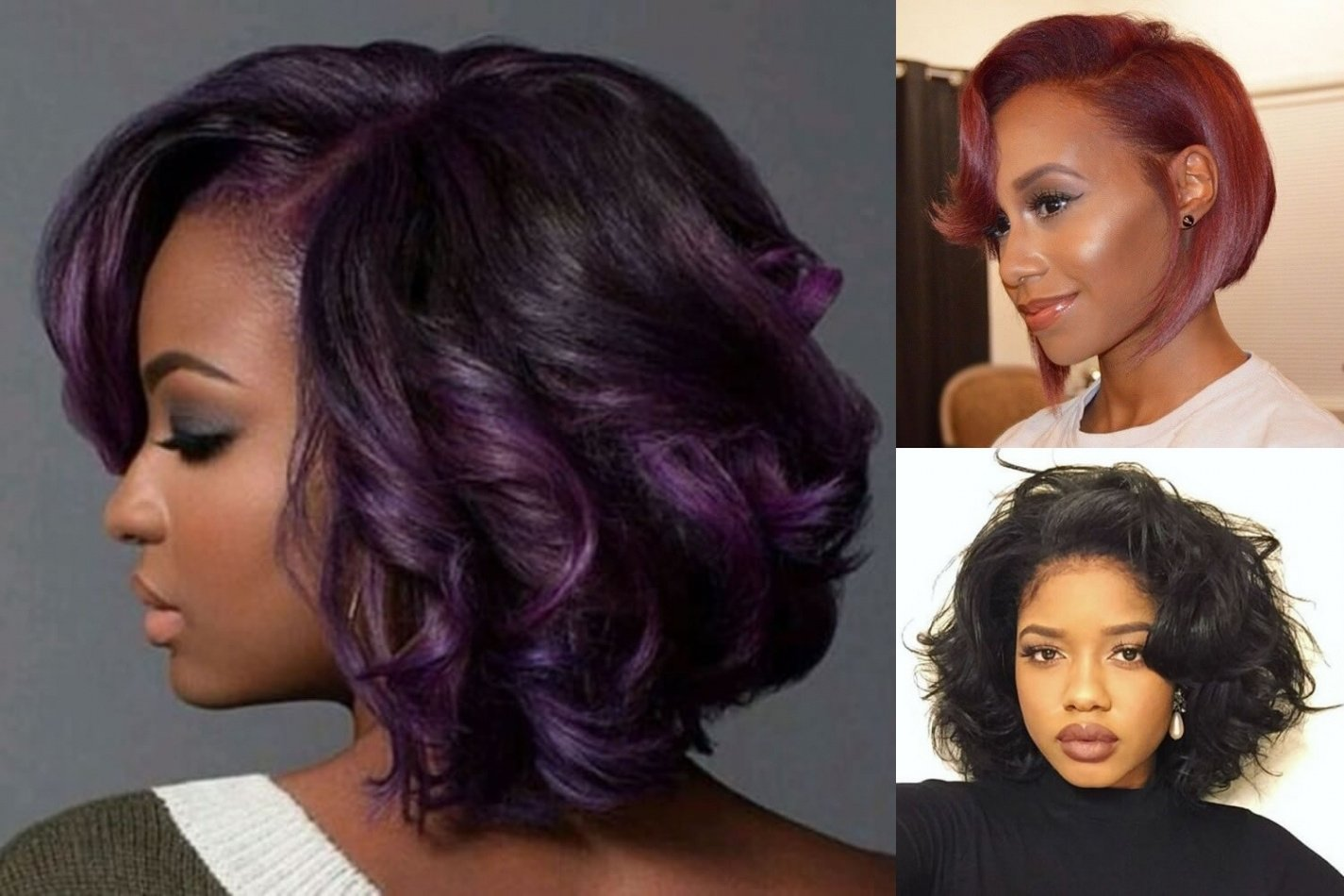 10 Stunning Hair Color Ideas For Bob Hairstyles best 45 short bob hairstyle for black women hair color ideas 2020