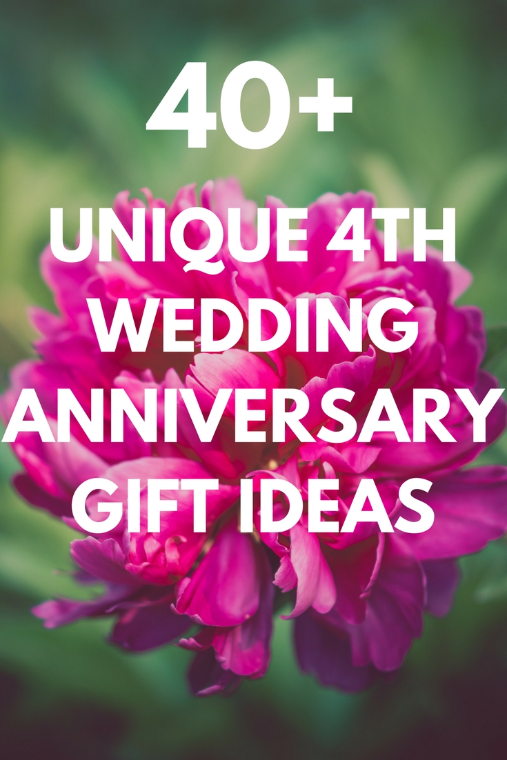 10 Perfect 4Th Anniversary Gift Ideas For Husband best 4th wedding anniversary gift ideas for him and her 35 unique 2020