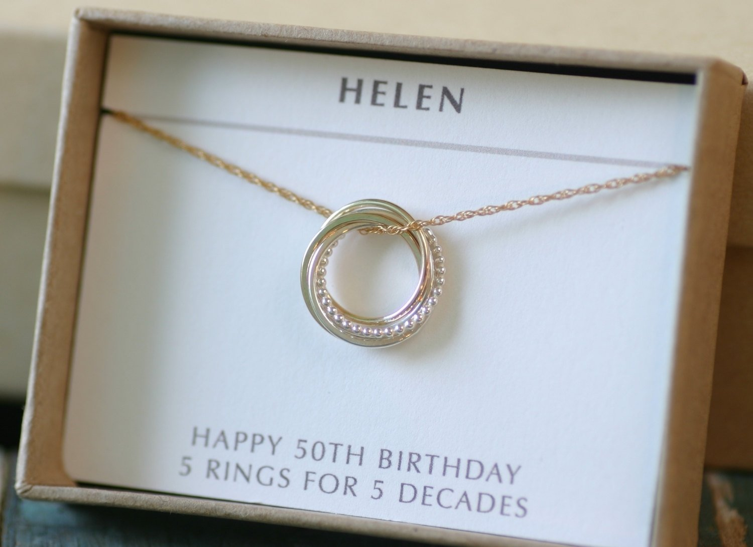 10 Pretty 50 Birthday Gift Ideas For Her Best 50th Party Women