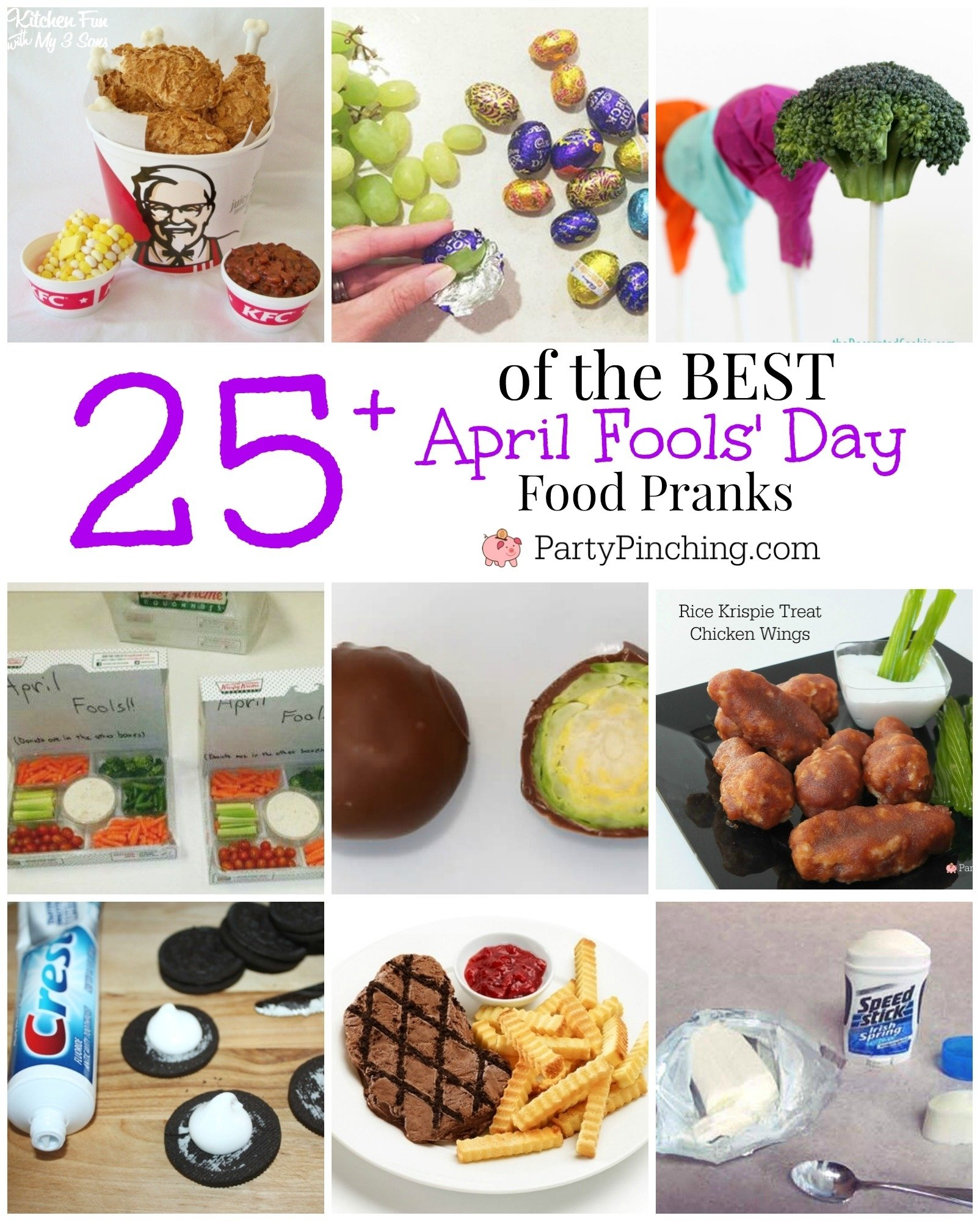 10 Attractive April Fools Day Party Ideas best april fools day food pranks party pinching 2020