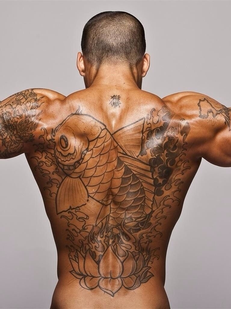 10 Gorgeous Back Tattoo Ideas For Men best back tattoo ideas for men back tattoo pinterest tattoo