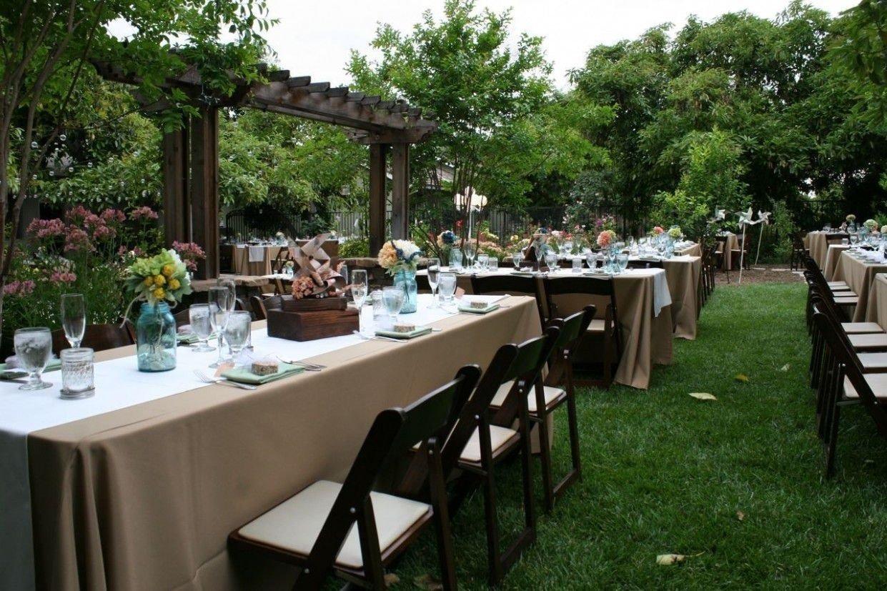 10 Wonderful Backyard Wedding Reception Ideas On A Budget