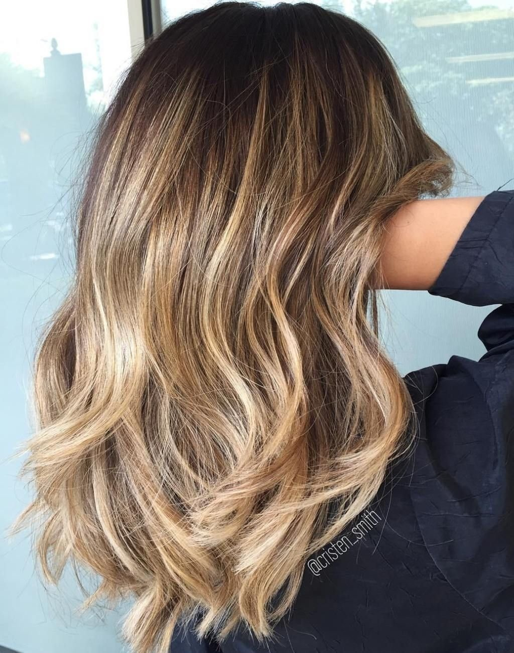 10 Perfect Shoulder Length Hair Color Ideas best balayage hair color ideas 70 flattering styles for 2018 4