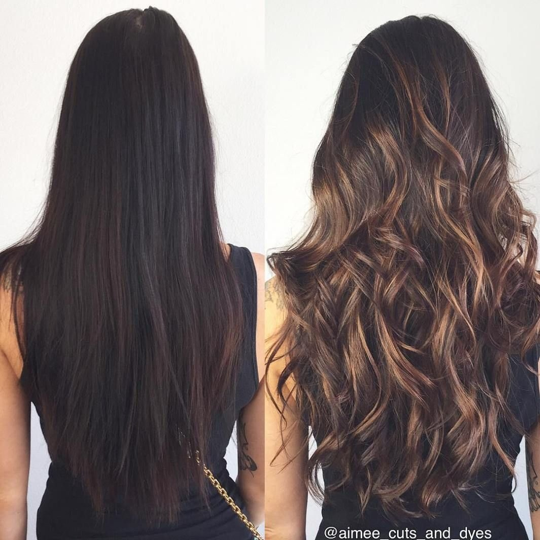 10 Stunning Hair Highlight Ideas For Brown Hair best balayage hair color ideas 70 flattering styles for 2018 5 2020