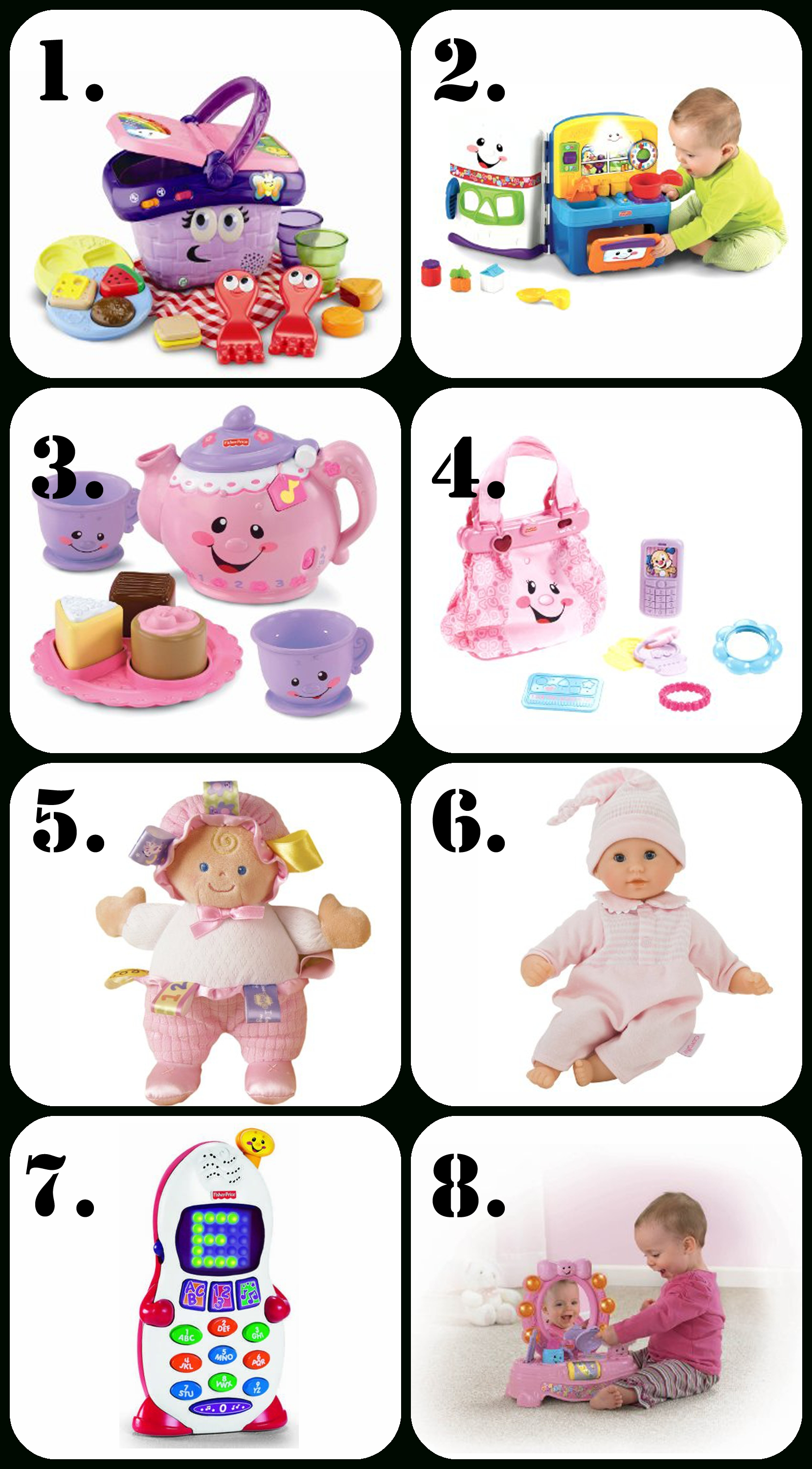 10 Pretty Gift Ideas For One Year Old Girl best birthday presents for a 1 year old creative home family 4 2020