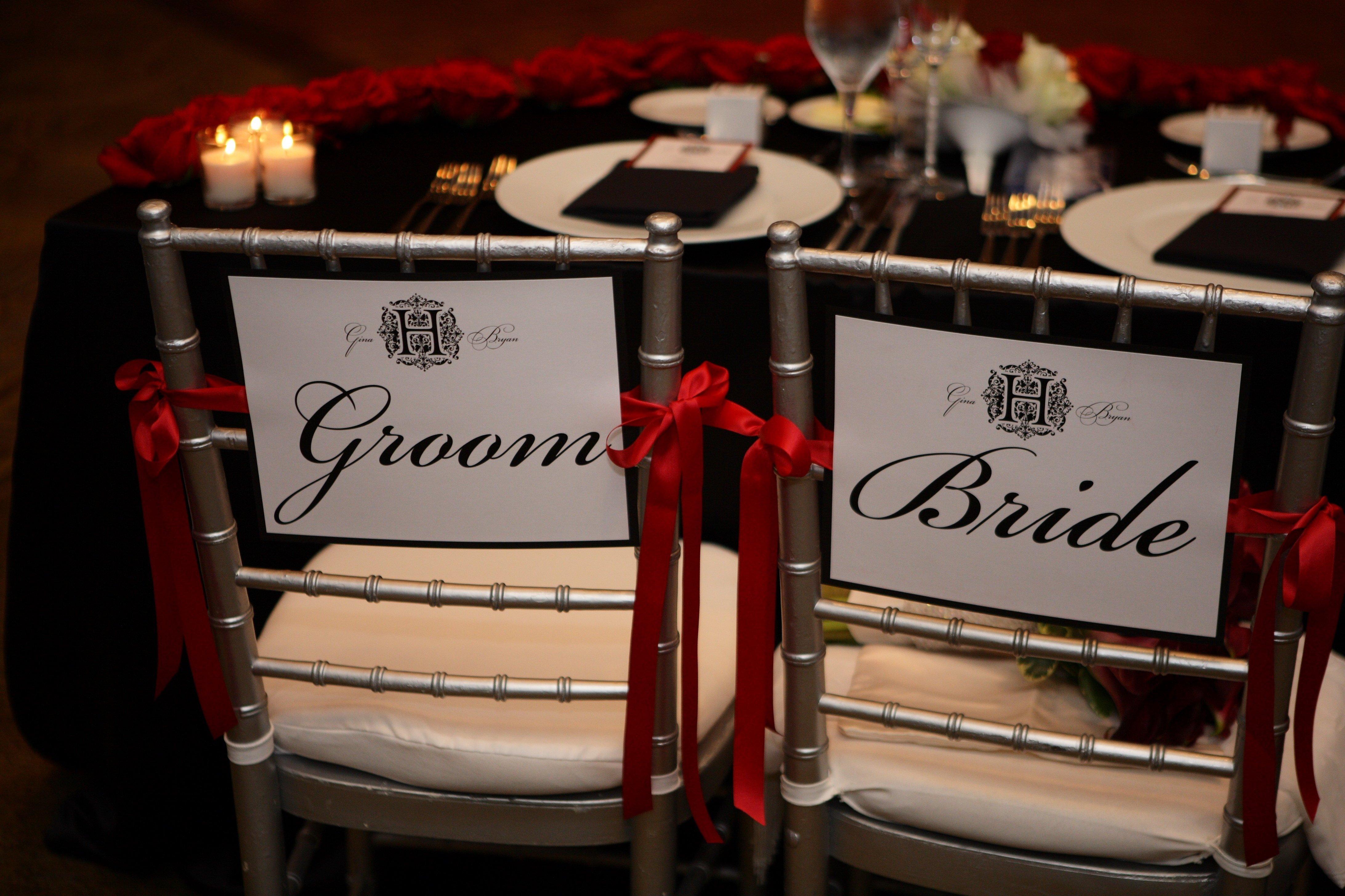 10 Nice Red Black White Wedding Ideas
