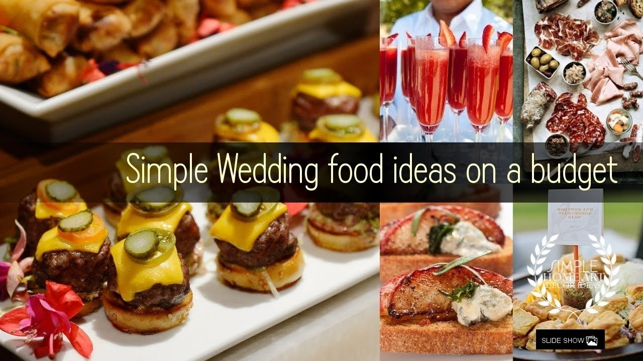 Attractive Wedding Reception Food Ideas On A Budget Ensign - Wedding ...