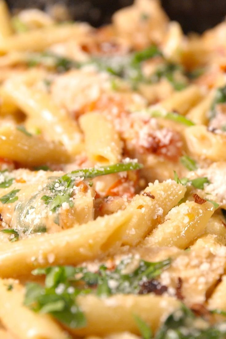best chicken florentine pasta - how to make chicken florentine pasta