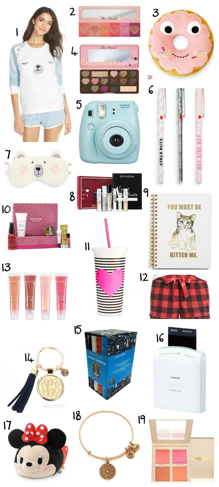 10 Great Christmas Ideas For Teenage Girls