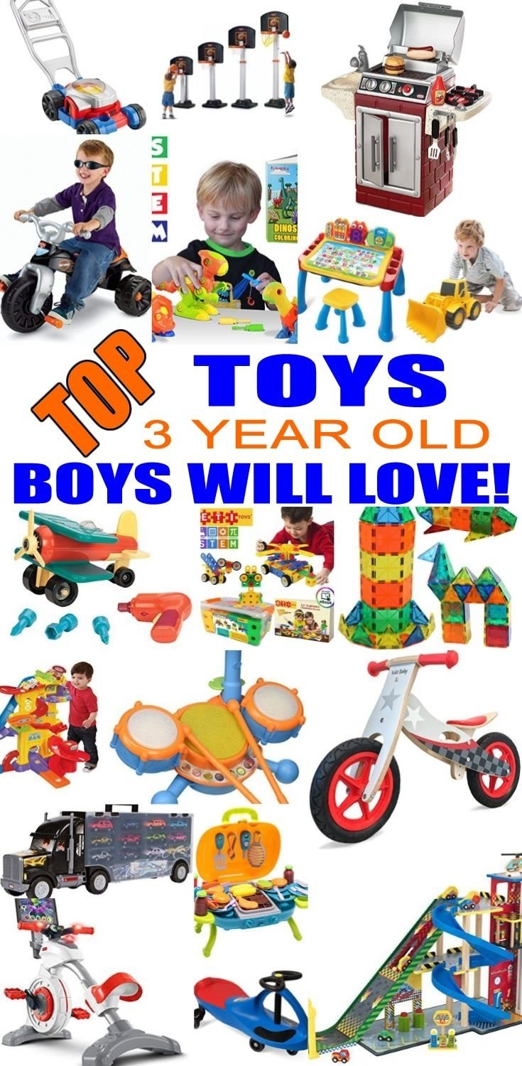 10 Wonderful Birthday Gift Ideas For 3 Year Old Boy Best Christmas Gifts A
